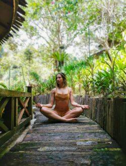 Boho Yoga und Stretch